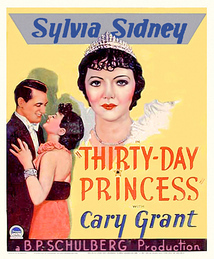 Subtitrare Thirty Day Princess (1934)